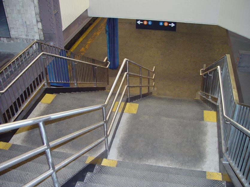 Mta subway station post road iron works