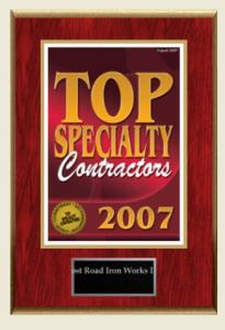 Top Specialty Contractors 2007 [won]
