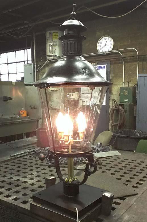 Post Road Iron Works lamp lighting fixture repair